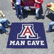 Arizona Man Cave Tailgater Rug 5'x6'