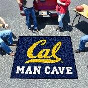 UC - Berkeley Man Cave Tailgater Rug 5'x6'