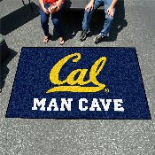 UC - Berkeley Man Cave UltiMat Rug 5'x8'