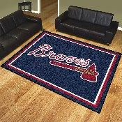 MLB - Atlanta Braves 8'x10' Rug