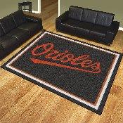 MLB - Baltimore Orioles 8'x10' Rug