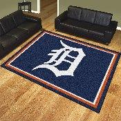 MLB - Detroit Tigers 8'x10' Rug
