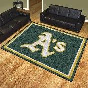 MLB - Oakland Athletics 8'x10' Rug