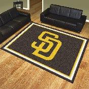 MLB - San Diego Padres 8'x10' Rug