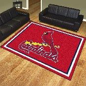 MLB - St. Louis Cardinals 8'x10' Rug