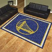 NBA - Golden State Warriors 8'x10' Rug