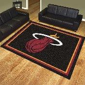 NBA - Miami Heat 8'x10' Rug