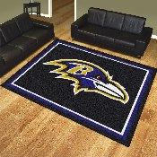 NFL - Baltimore Ravens 8'x10' Rug