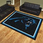 NFL - Carolina Panthers 8'x10' Rug