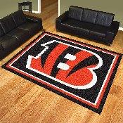 NFL - Cincinnati Bengals 8'x10' Rug