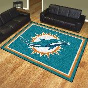 NFL - Miami Dolphins 8'x10' Rug