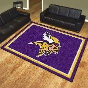 NFL - Minnesota Vikings 8'x10' Rug