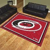 NHL - Carolina Hurricanes 8'x10' Rug