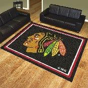 NHL - Chicago Blackhawks 8'x10' Rug