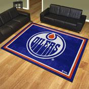 NHL - Edmonton Oilers 8'x10' Rug