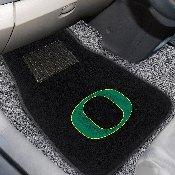 Oregon 2-piece Embroidered Car Mats 18x27