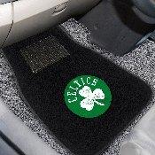 NBA - Boston Celtics 2-piece Embroidered Car Mats 18x27