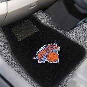 NBA - New York Knicks 2-piece Embroidered Car Mats 18x27