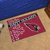 NFL - Arizona Cardinals Starter Mat - Happy Holidays 19