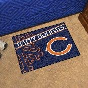 NFL - Chicago Bears Starter Mat - Happy Holidays 19