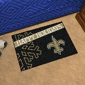 NFL - Miami Dolphins Starter Mat - Happy Holidays 19