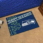 NFL - San Francisco 49ers Starter Mat - Happy Holidays 19