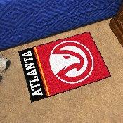 NBA - Atlanta Hawks Uniform Inspired Starter Rug 19x30