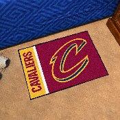NBA - Cleveland Cavaliers Uniform Starter Rug 19x30