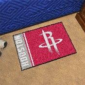 NBA - Houston Rockets Uniform Inspired Starter Rug 19x30