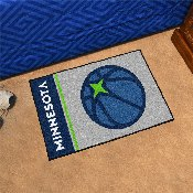 NBA - Minnesota Timberwolves Uniform Inspired Starter Rug 19x30