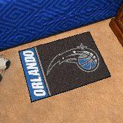 NBA - Orlando Magic Uniform Inspired Starter Rug 19x30