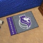 NBA - Sacramento Kings Uniform Inspired Starter Rug 19x30