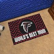 NFL - Atlanta Falcons Starter Mat - World's Best Mom 19