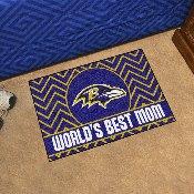 NFL - Baltimore Ravens Starter Mat - World's Best Mom 19