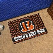 NFL - Cincinnati Bengals Starter Mat - World's Best Mom 19