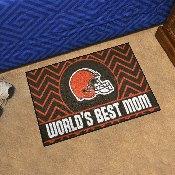 NFL - Cleveland Browns Starter Mat - World's Best Mom 19