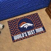 NFL - Denver Broncos Starter Mat - World's Best Mom 19