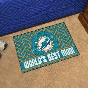 NFL - Miami Dolphins Starter Mat - World's Best Mom 19