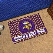 NFL - Minnesota Vikings Starter Mat - World's Best Mom 19