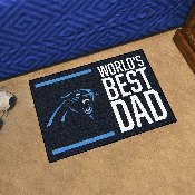 NFL - Carolina Panthers Starter Mat - World's Best Dad 19
