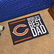 NFL - Chicago Bears Starter Mat - World's Best Dad 19