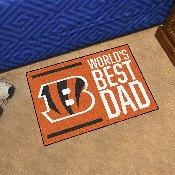 NFL - Cincinnati Bengals Starter Mat - World's Best Dad 19