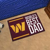 NFL - Washington Football Team Starter Mat - World's Best Dad 19