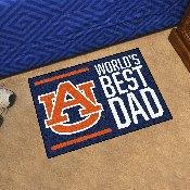 Auburn University Starter Mat - World's Best Dad 19