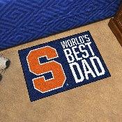 Syracuse University Starter Mat - World's Best Dad 19
