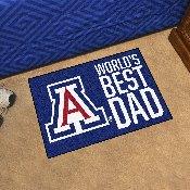 University of Arizona Starter Mat - World's Best Dad 19