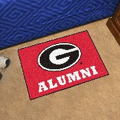 University of Georgia Alumni Starter Mat 19