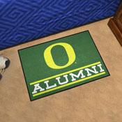 "University of Oregon Alumni Starter Mat 19""x30"""