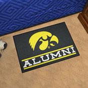 University of Iowa Alumni Starter Mat 19
