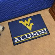 West Virginia University Alumni Starter Mat 19